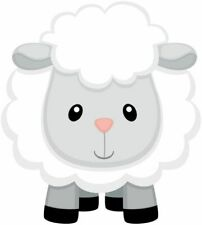 24 Comestible Papier De Riz Gâteau Décorations-Easter Lamb