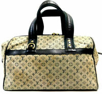 Louis Vuitton Handbag Monogram Mini Lin Josephine GM Hand Bag