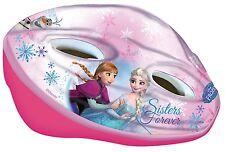 Disney FROZEN Anna/Elsa FAHRRADHELM Kinderhelm 52-56 cm VERSTELLBAR mit Drehring