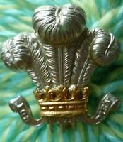 Denbighshire Hussars Yeomanry Cap Badge Bi- Metal Slider maker JR GAUNT