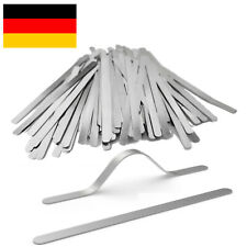 LeBigMag | Nasenbügel Aluminium | Maskenherstellung | 85 x 5 x 0,5 mm | rostfrei