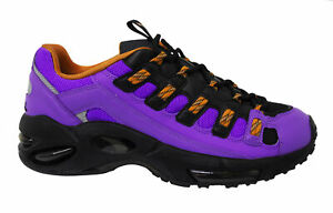 Puma Cell Endura Rebound Purple Black Low Lace Up Casual Trainers Mens 369806 04