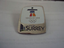 VANCOUVER 2010 OLYMPICS CITY OF SURREY PIN (more in my ebay store)