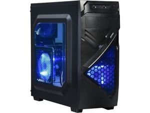 Custom Built 4GHZ 16GB DDR4 1TB Gaming Desktop PC Computer System DVDRW New PC !