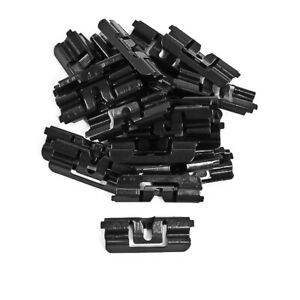 1979-1993 Mustang LX GT Hatchback Rear Window Glass Molding Retainer Clips 22 pc