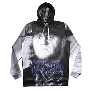 Chalk Line Undertaker 30th Anniversary WWE Retro Hoody Hoodie BRAND NEW