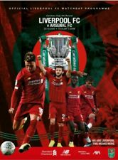 Liverpool V Arsenal Carabao Cup Programme 2019-20 Brand new Mint Condition
