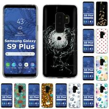 Thin Gel Design Phone Case Cover for Samsung Galaxy S9 Plus,Bullet Stylish Print