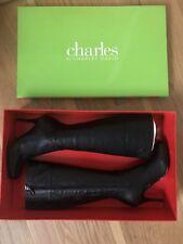 Charles David Black Boots