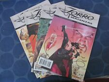 Zorro Matanzas Dynamite Comics full run/complete series 1-4