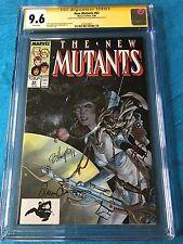 New Mutants #63 - Marvel - CGC SS 9.6 NM+  - Signed by L Simonson, Bo Hampton