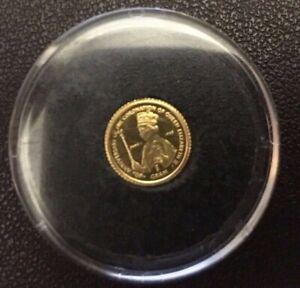 Gibraltar 1g 24ct Gold Coin 40th Anniversary of Queen Elizabeth II Coronation