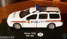 VOLVO V POLITI 2002 POLICE NORVEGE NORWAY 1/43 DIE CAST CARARAMA OLIEX BREAK SW