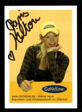 Paris Hilton Autogrammkarte Original Signiert Model ## BC 162411