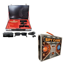 SPY Master CASE Top Secret  Briefcase Includes Book and  SPY Kit and Toy gadgets