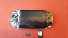 Sony PS Vita Wifi Model (PCH-1101) With 4gb mem Card and lego marvel super hero