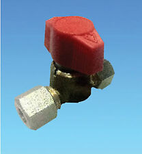 I WAY SINGLE GAS SHUT OFF TAP MAIFOLD VALVE 8MM FITTING CARAVAN MOTORHOME