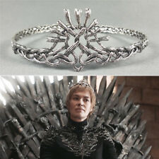 Game of Thrones Season 7 Cersei Lannister Crowns Alloy Tiaras Cosplay Prop Gift