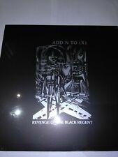 """Add N To (X) Revenge Of The Black Regent 12""""Vinyl promo, Sealed,New."""