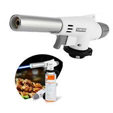 Butane Gas Blow Torch Welding Iron Soldering Lighter Flame Gun Burner White