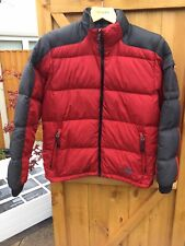 THE NORTH FACE - Gents Goose Down Jacket - Red/Grey - Size M - VGC