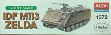 ACADEMY 1:35 KIT CARRO ARMATO  TANK  IDF M113 ZELDA  ART 1372
