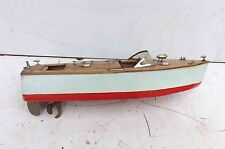 Motor Launch rareVintage ITO Japan speed boat battery operated, free world post.