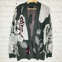 RACHEL ZOE Rose Thick Cardigan Tunic Oversize Sweater Open Front Women's XS NEW