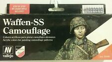Vallejo acrylic paint Waffen SS Camouflage