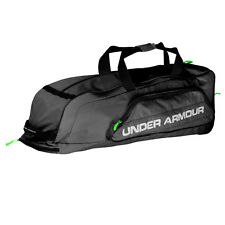 Under Armour Line Drive Baseball/Softball Roller Bag - Black