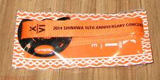 SHINHWA 2014 16TH ANNIVERSARY CONCERT HERE OFFICIAL GOODS AQUA BELT SEALED
