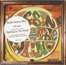 BADLY DRAWN BOY - Spitting In The Wind (UK 3 Tk CD Single Pt 1)
