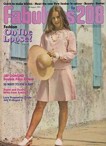 FABULOUS / FAB 208 Magazine - 4 Aug 1973 New Seekers The Osmonds