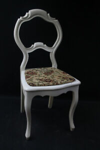 Alter Chair Old Vintage Wooden Chair Shabby Chic Louis Philip Style