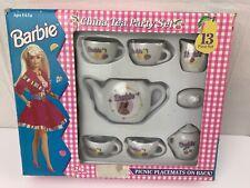 Barbie China Tea Party Set 13 Piece 1994 Toy