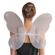 Net Fairy Wings With Silver Glitter, Hen Stag Party Fancy Dress, Ladies Girls UK