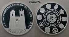 PORTUGAL 2005. 10 Euros Plata PROOF VI Serie Iberoamericana. 27 gr. SÉ DO PORTO.