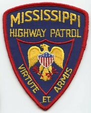 1980's Mississippi Highway Patrol Patch