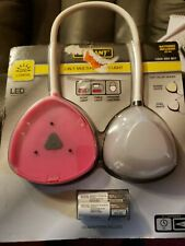 Defiant 3-in-1 Multi-function Light- Pink&Grey Energy Efficient Batteries Includ
