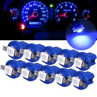 LED T5 B8.5D Car Dashboard Light Dash Gauge Width Lamp Blue Bulbs Vehicle Parts