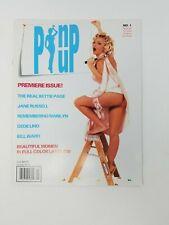 Pinup magazine Vol. No 1 April 1998 Mint Condition