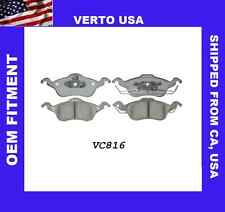 Front and Rear Ceramic Brake Pads VTCRDC000057