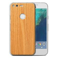 STUFF4 Phone Case for Google Nexus/Pixel/Wood Grain Effect/Pattern/Cover