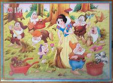 Vintage 1994 Blancanieves Y Los Siete Enanitos Disney Rompecabezas. 150 Piezas