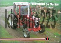 A3 Case McCormick International Harvester Tractor Brochure Poster 955XL Rare