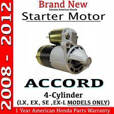 Genuine Oem Honda Accord 2008- 2012 Starter 4-Cylinder Automatic Lx Ex Se Ex-L