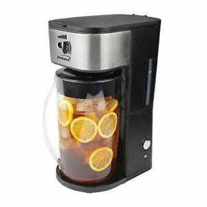 Brentwood Appliances Kt-2150bk Iced Tea And Coffee Maker [black] (kt2150bk)