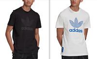 ADIDAS Originals Mens Adidas Originals Warm up Trefoil T-Shirt NEW NWT  $35