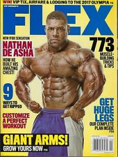 FLEX Magazine April 2017 ft. Nathan De Ashe