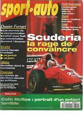 SPORT AUTO 1994 N° 392 F1 GP ALLEMAGNE RALLY NEW ZELANDE LAMBORGHINI OPEL